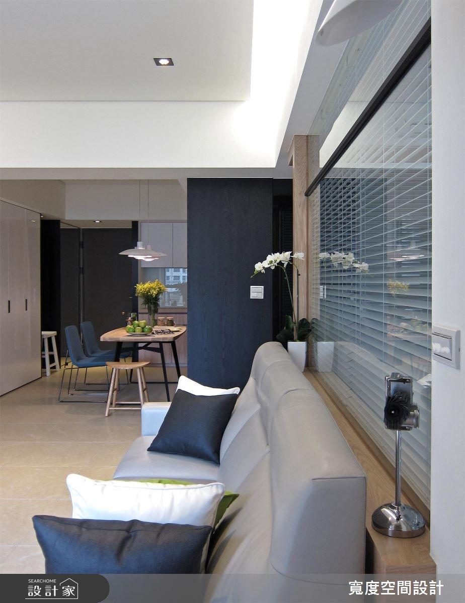 33坪新成屋(5年以下)_現代風客廳餐廳案例圖片_寬度空間設計_寬度_10之12