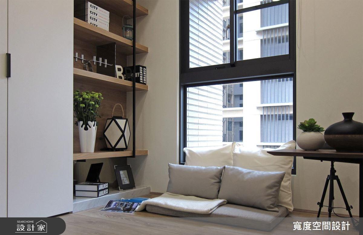 33坪新成屋(5年以下)_現代風臥室案例圖片_寬度空間設計_寬度_10之14