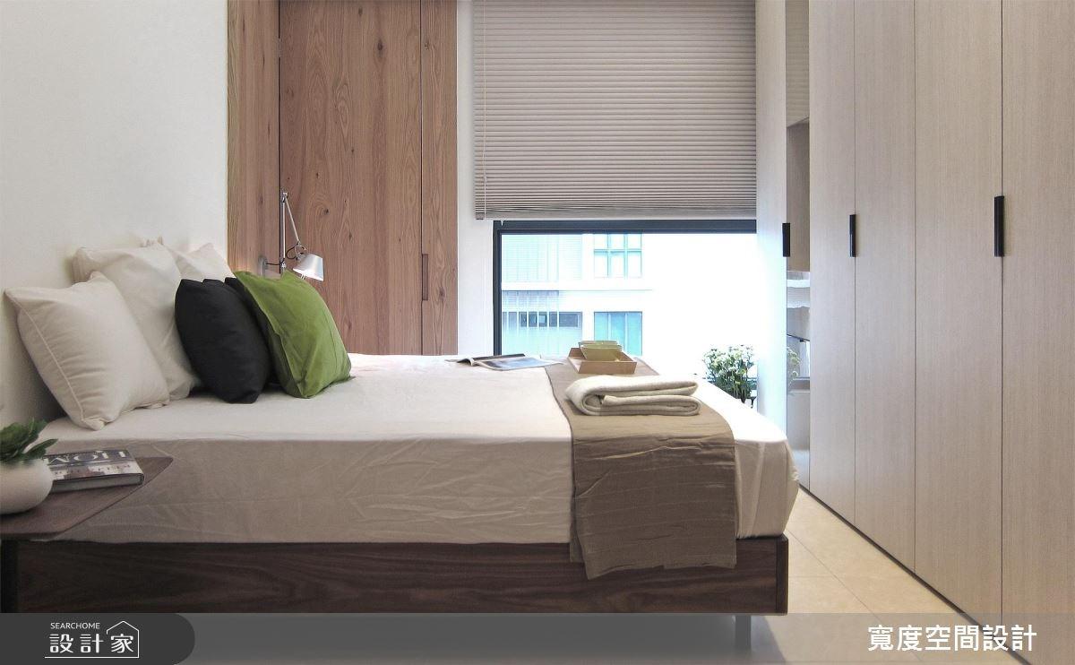 33坪新成屋(5年以下)_現代風臥室案例圖片_寬度空間設計_寬度_10之15