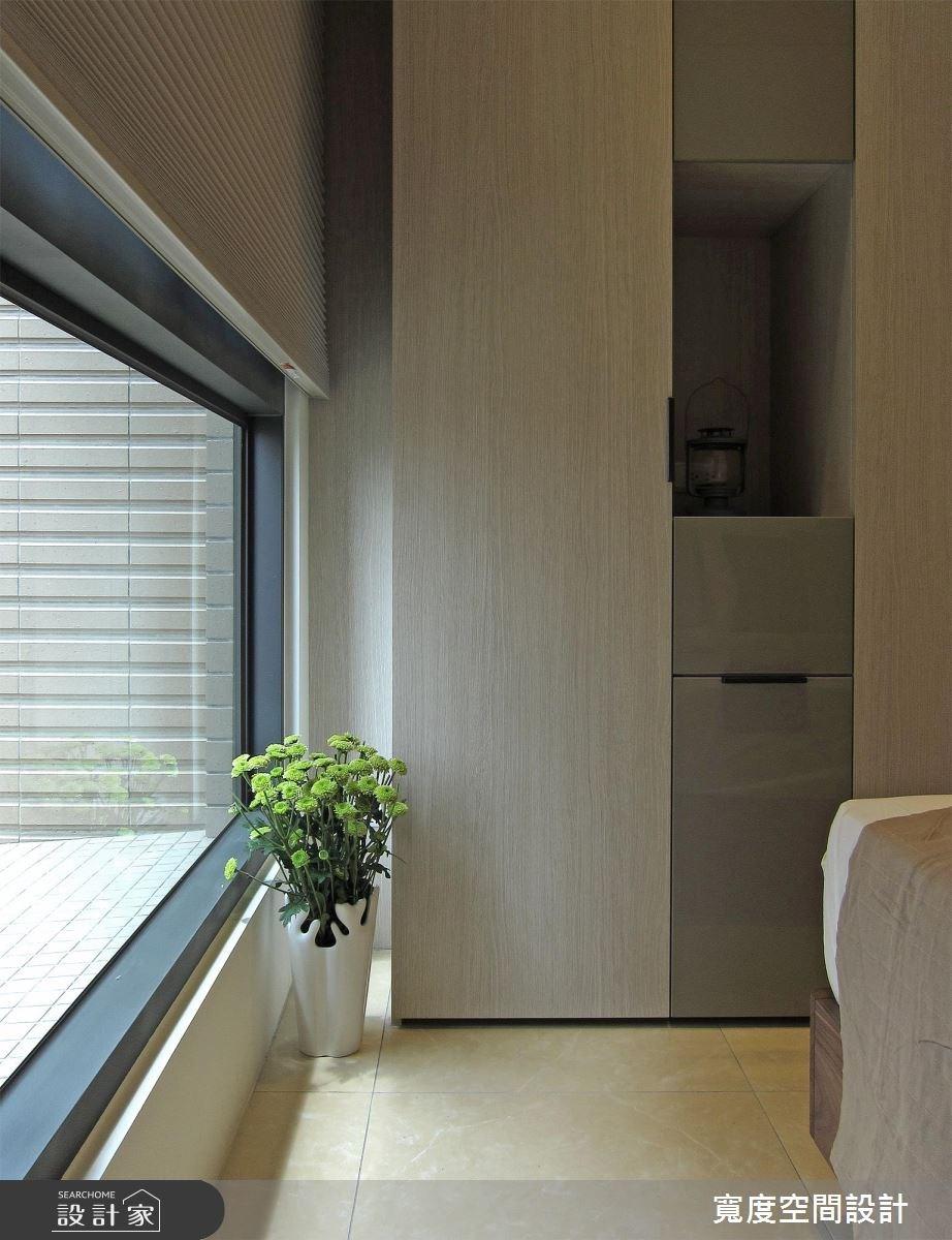 33坪新成屋(5年以下)_現代風臥室案例圖片_寬度空間設計_寬度_10之16