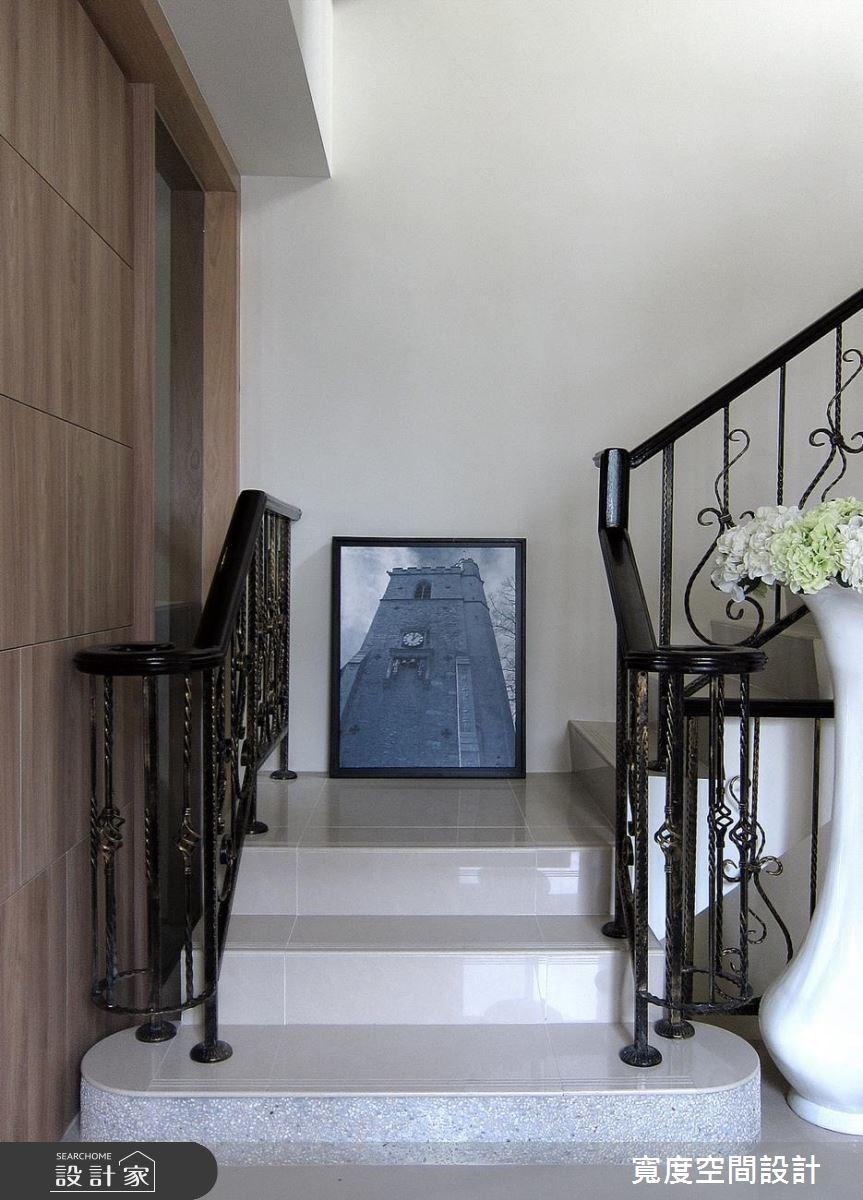 50坪新成屋(5年以下)_美式風樓梯案例圖片_寬度空間設計_寬度_11之4