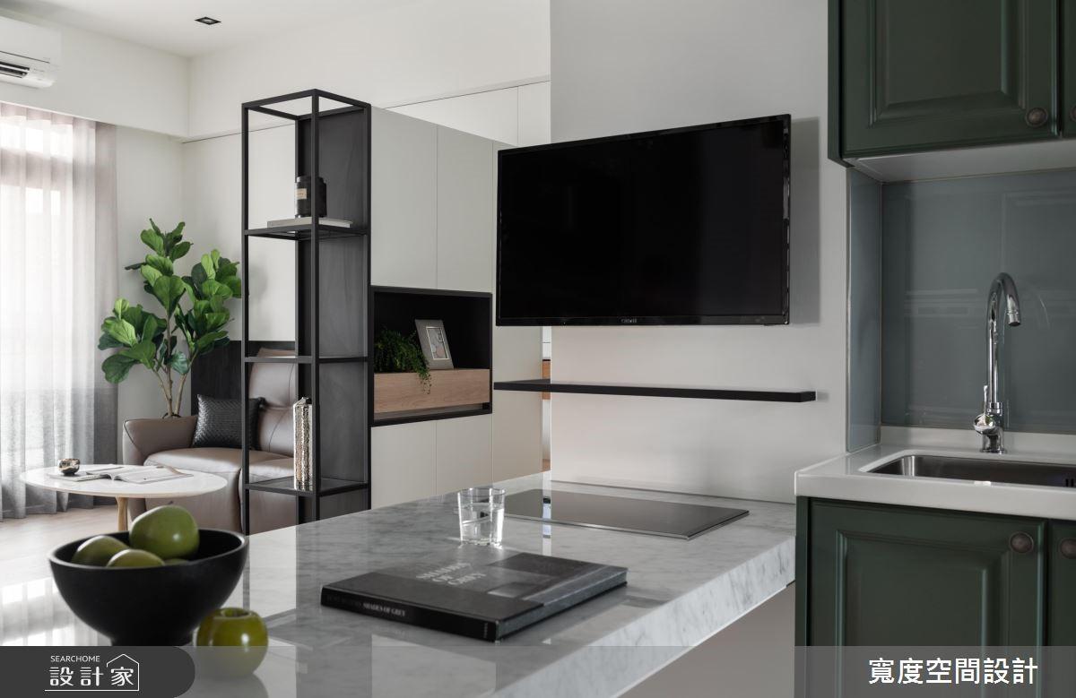 20坪新成屋(5年以下)_混搭風餐廳廚房案例圖片_寬度空間設計_寬度_14之11