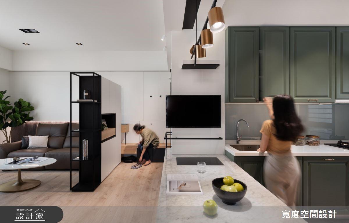 20坪新成屋(5年以下)_混搭風案例圖片_寬度空間設計_寬度_14之3