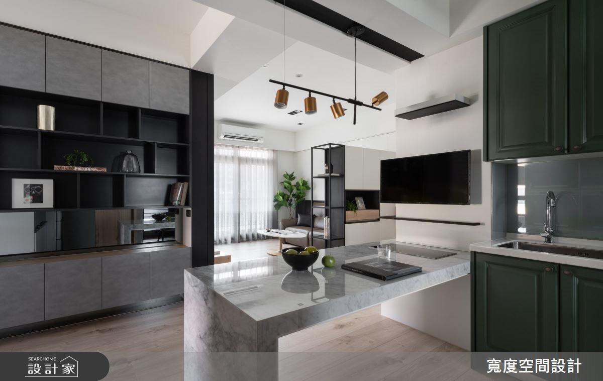20坪新成屋(5年以下)_混搭風餐廳廚房案例圖片_寬度空間設計_寬度_14之9