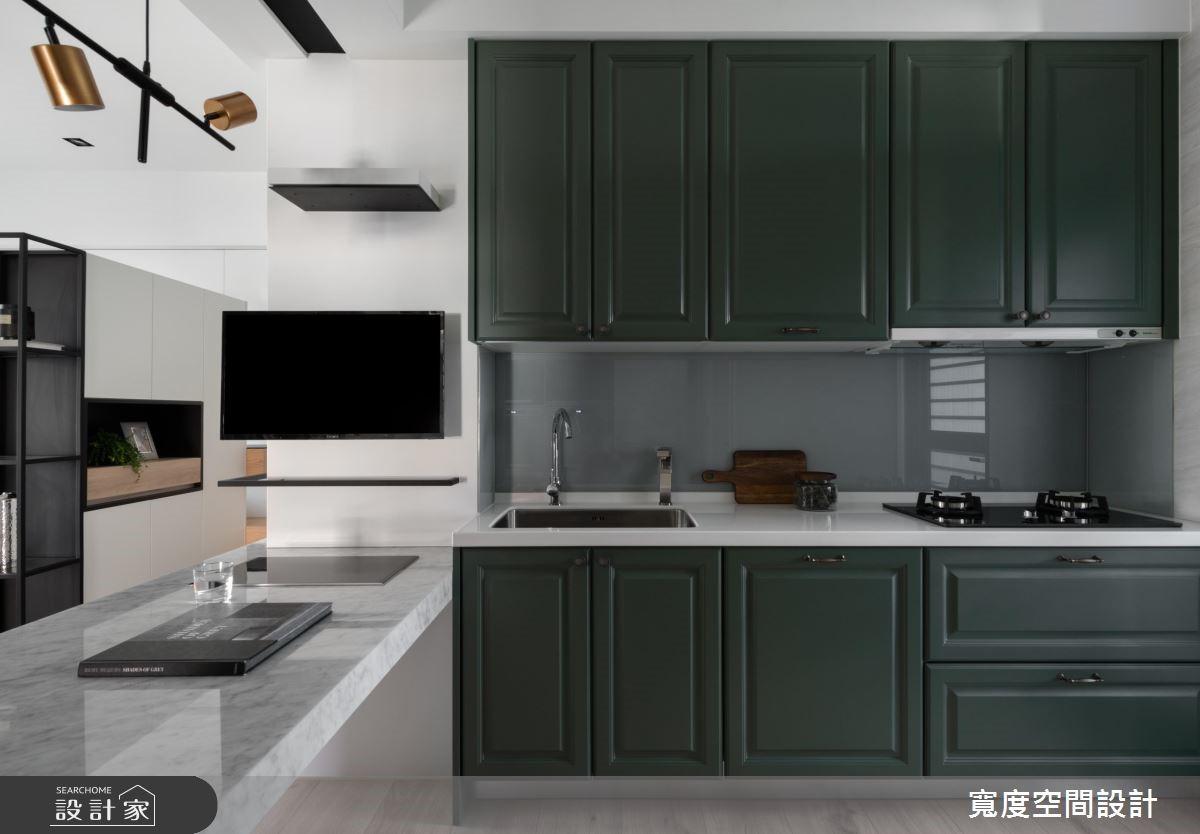 20坪新成屋(5年以下)_混搭風餐廳廚房案例圖片_寬度空間設計_寬度_14之10