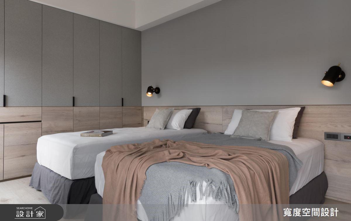 20坪新成屋(5年以下)_混搭風臥室案例圖片_寬度空間設計_寬度_14之15