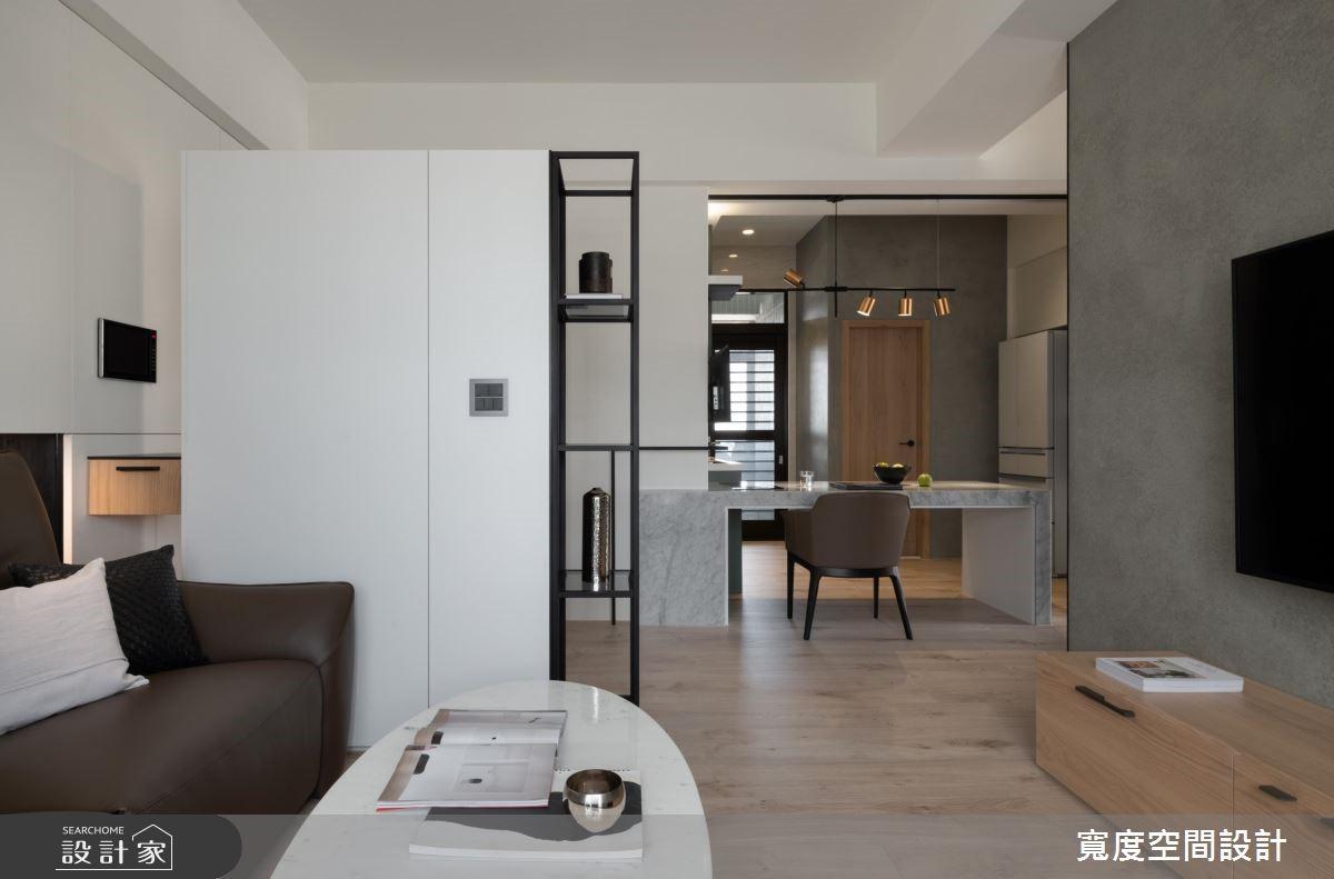 20坪新成屋(5年以下)_混搭風客廳案例圖片_寬度空間設計_寬度_14之4