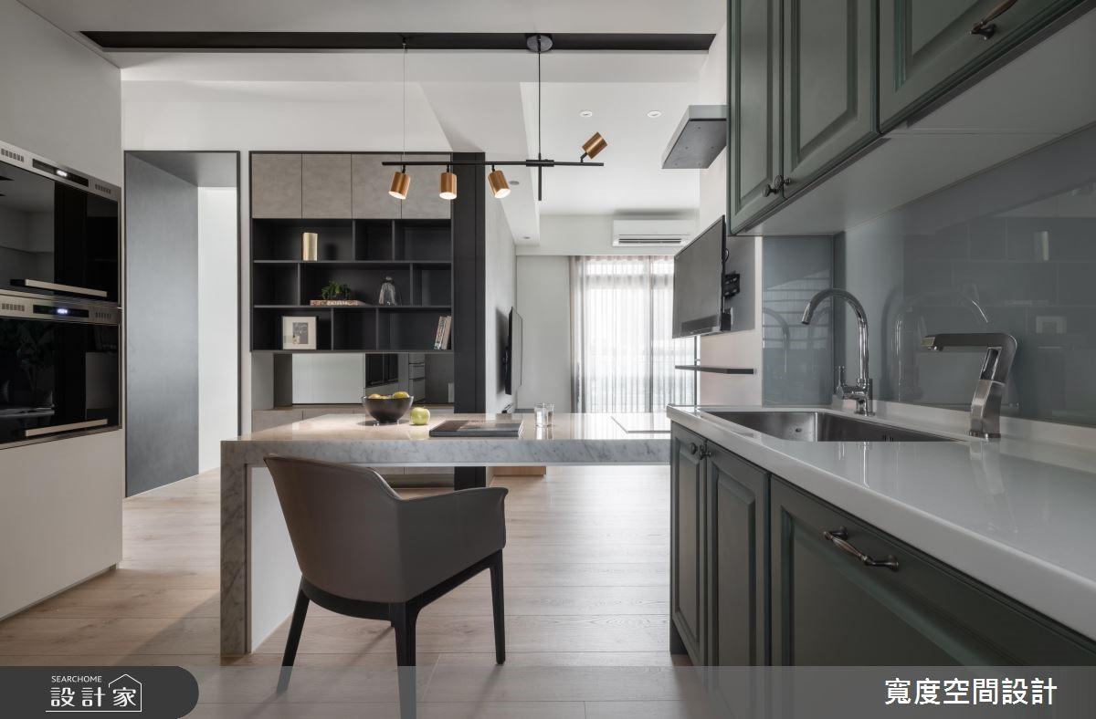 20坪新成屋(5年以下)_混搭風餐廳廚房案例圖片_寬度空間設計_寬度_14之7
