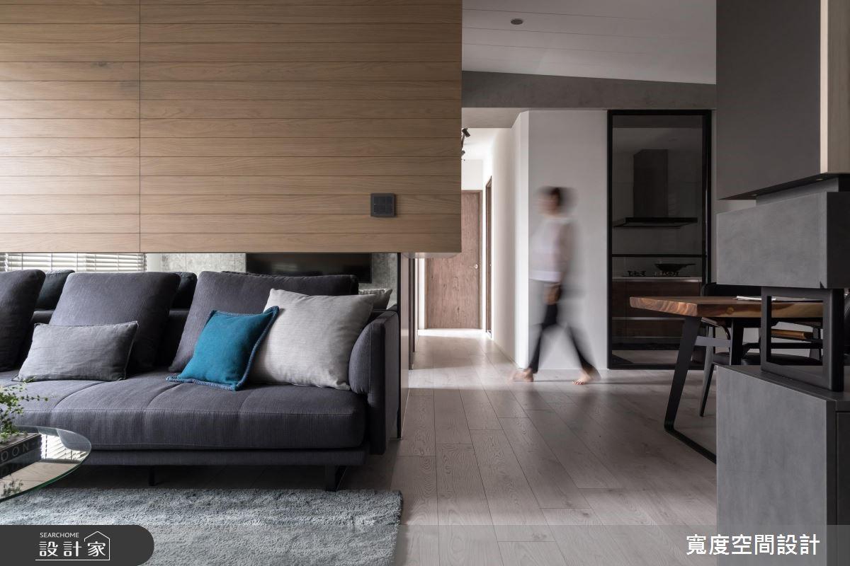 30坪新成屋(5年以下)_現代風客廳案例圖片_寬度空間設計_寬度_15之3