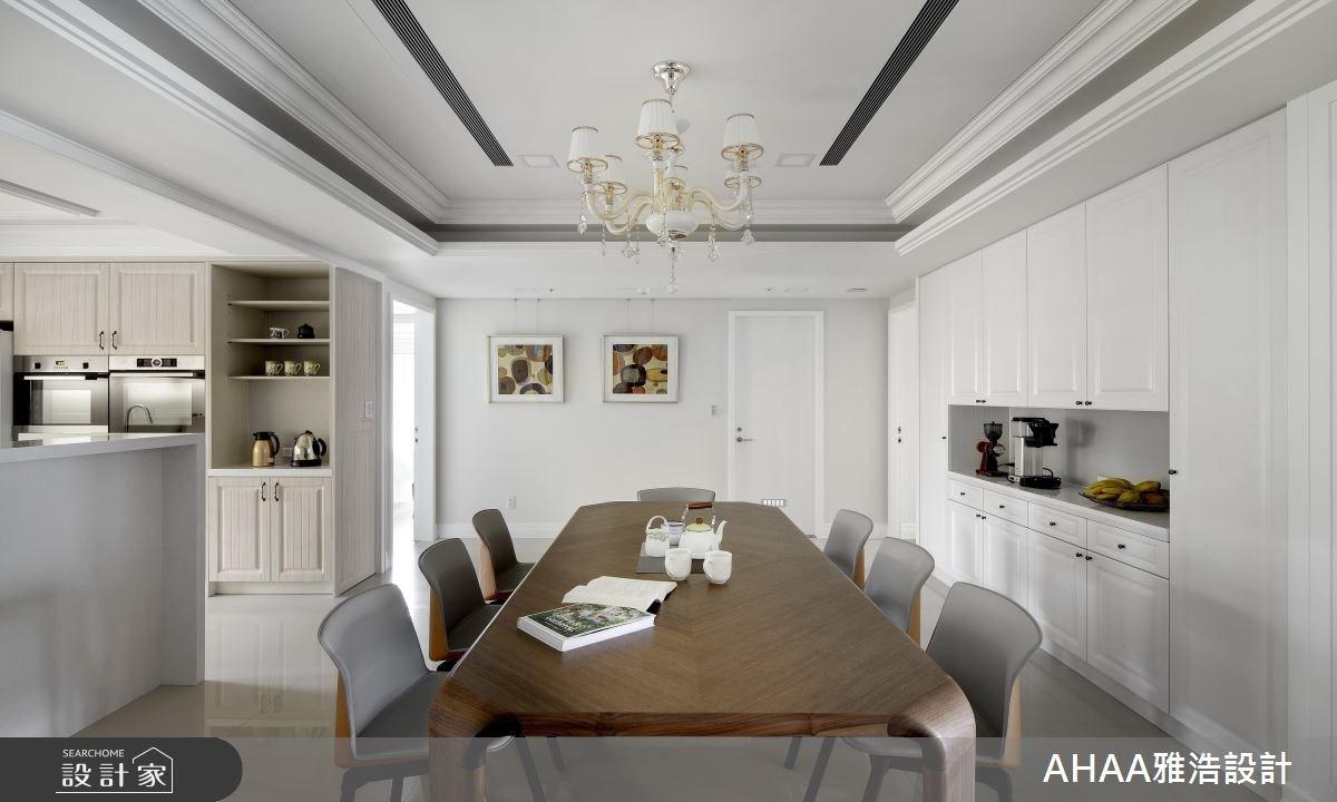 43坪新成屋(5年以下)_新古典餐廳案例圖片_雅浩設計有限公司_雅浩_03之3