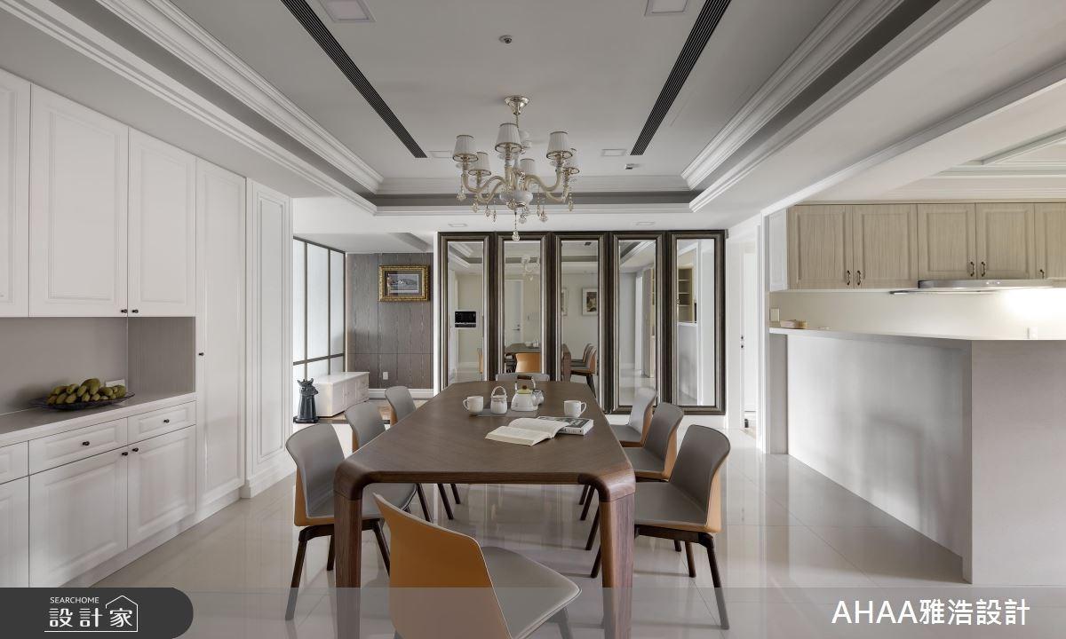 43坪新成屋(5年以下)_新古典餐廳案例圖片_雅浩設計有限公司_雅浩_03之4