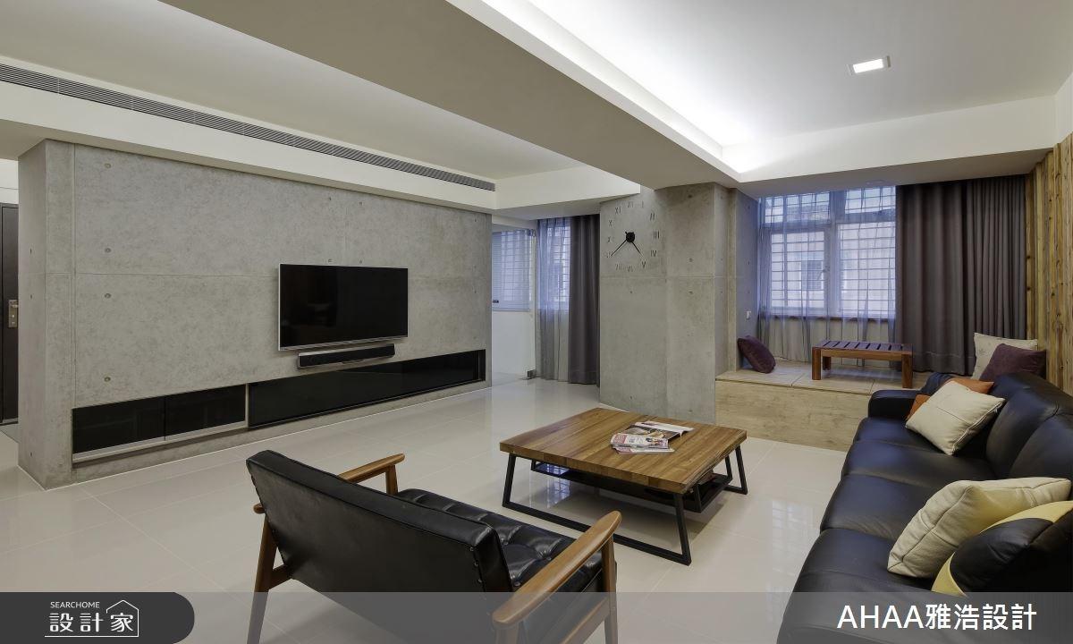 35坪老屋(16~30年)_現代風客廳案例圖片_雅浩設計有限公司_雅浩_04之3
