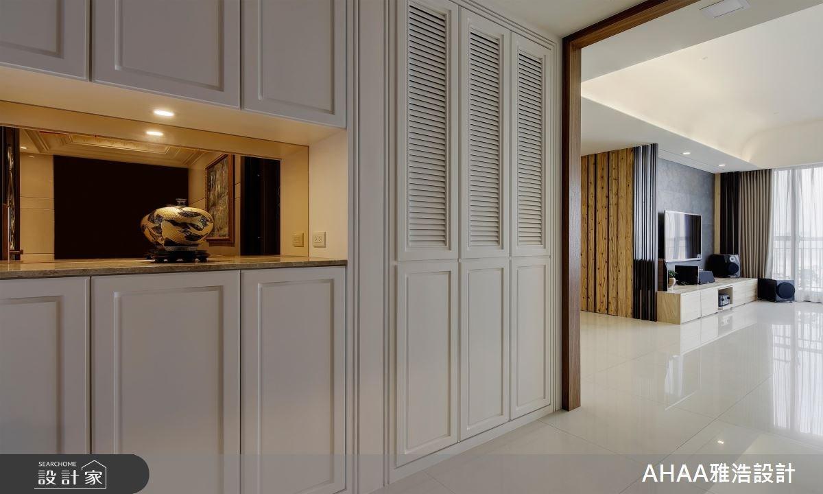 43坪新成屋(5年以下)_混搭風玄關客廳案例圖片_雅浩設計有限公司_雅浩_05之5