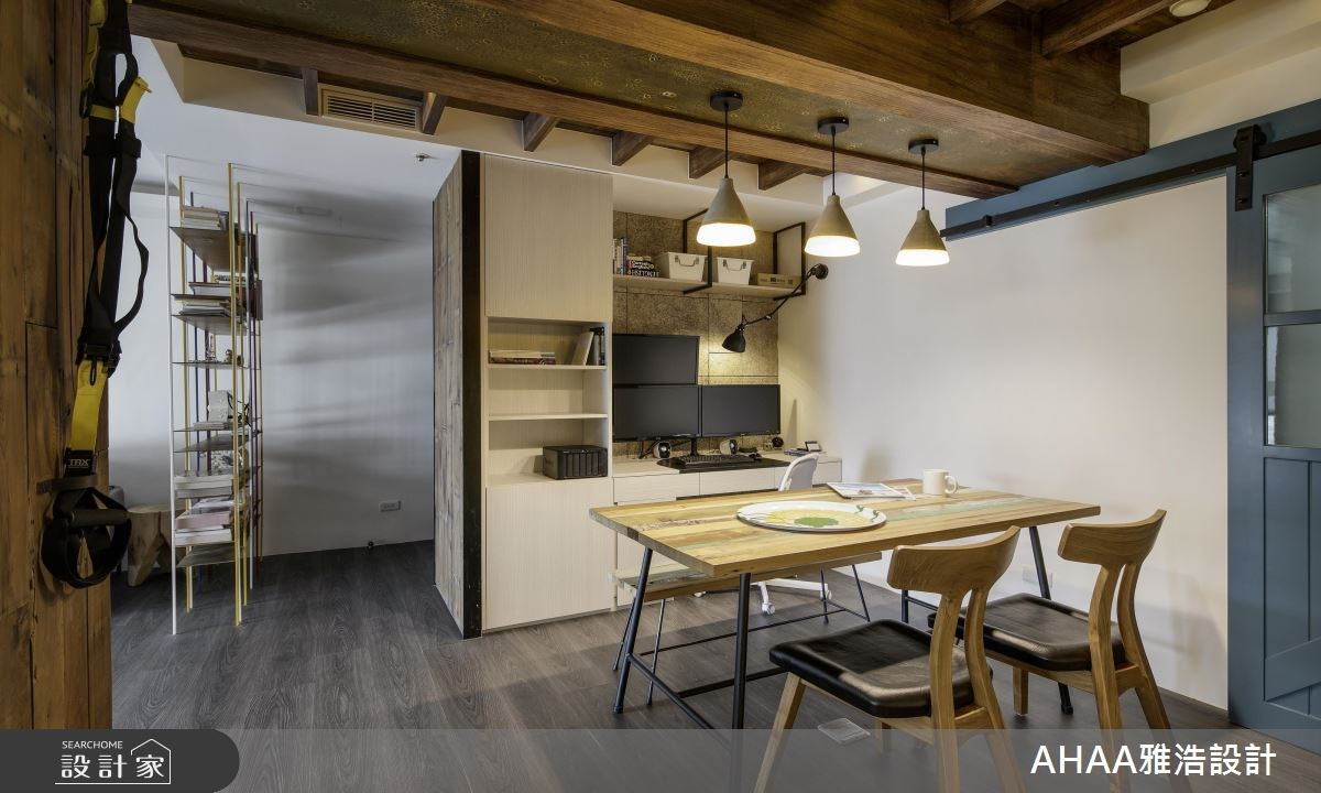 25坪中古屋(5~15年)_北歐風餐廳工作區走廊案例圖片_雅浩設計有限公司_雅浩_11之8