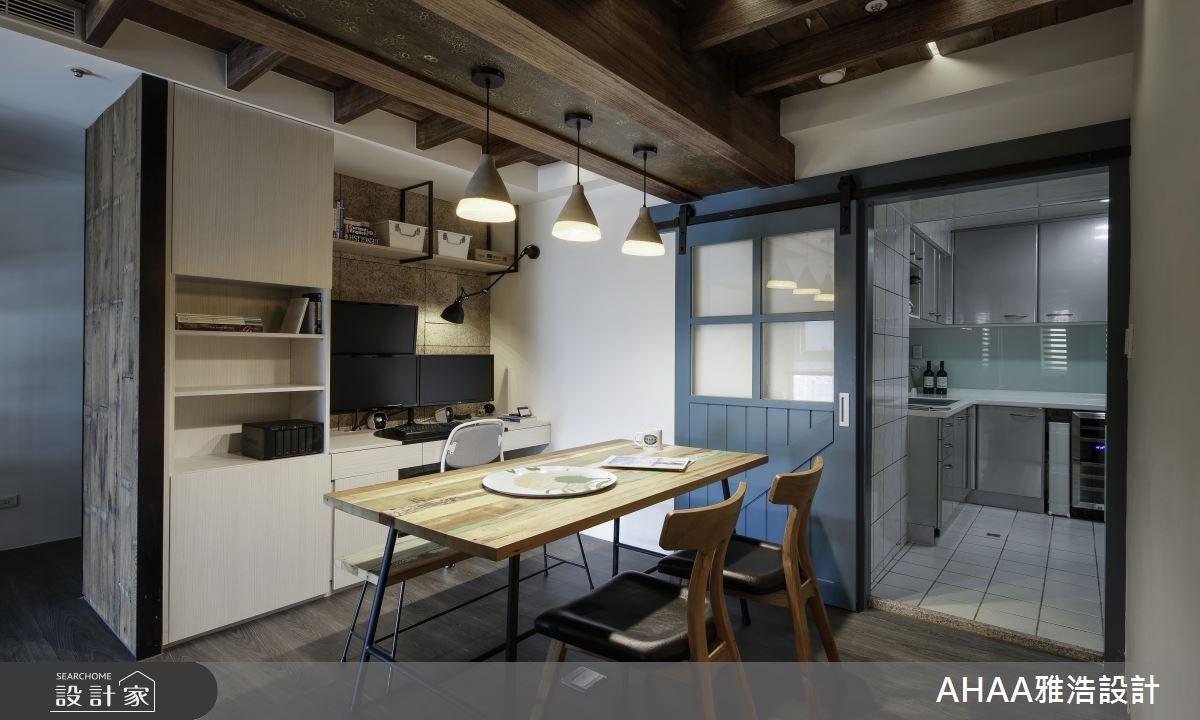 25坪中古屋(5~15年)_北歐風餐廳廚房工作區案例圖片_雅浩設計有限公司_雅浩_11之10