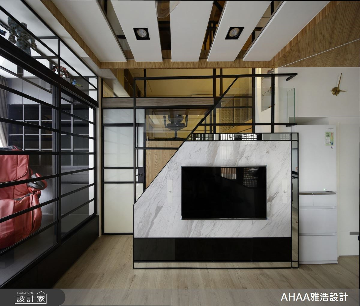 12坪新成屋(5年以下)_現代風客廳案例圖片_雅浩設計有限公司_雅浩_15之2