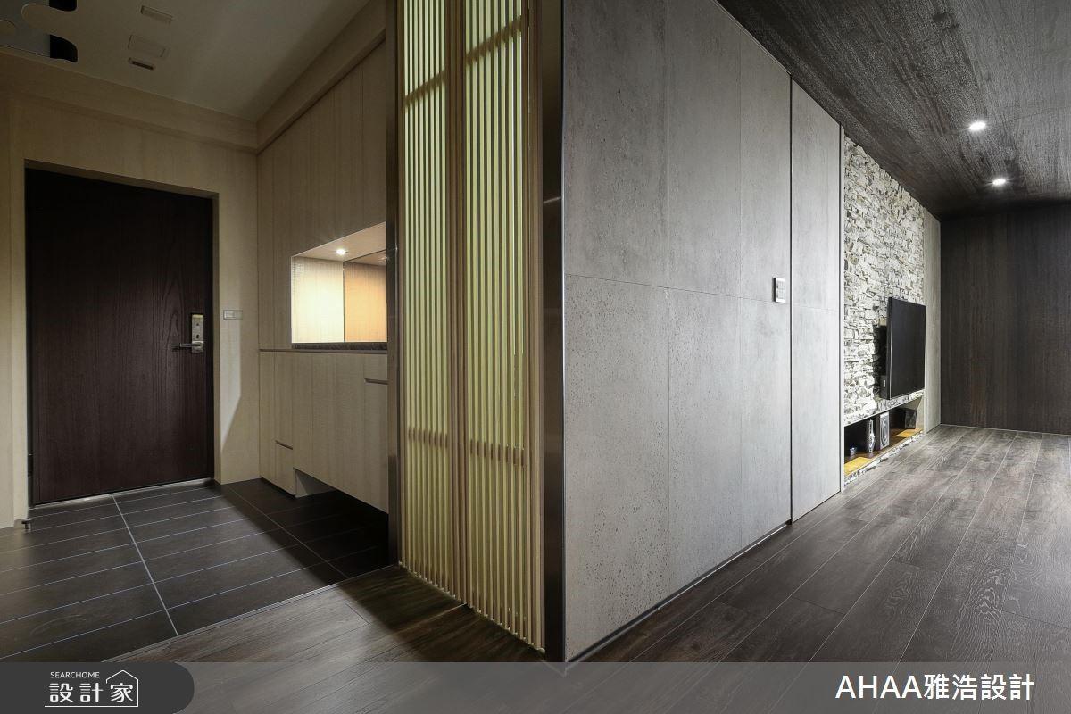 31坪老屋(16~30年)_簡約風玄關案例圖片_雅浩設計有限公司_雅浩_16之2