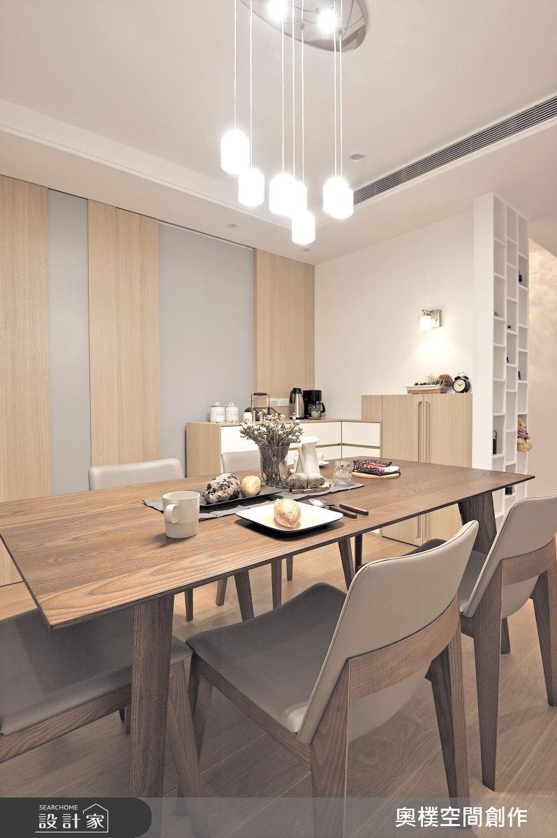 30坪新成屋(5年以下)_休閒風餐廳案例圖片_奧樸空間創作有限公司_奧樸_01之6