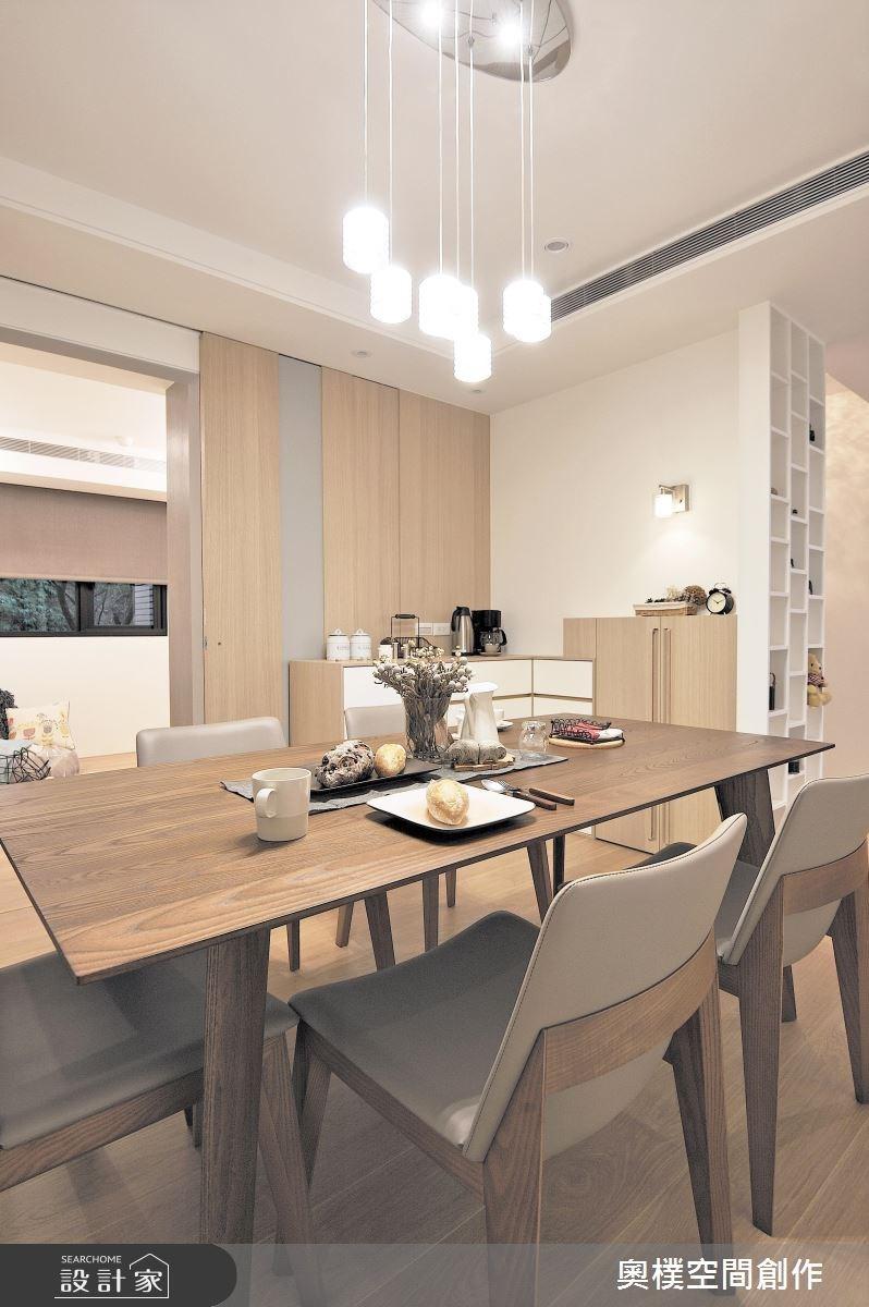 30坪新成屋(5年以下)_休閒風餐廳案例圖片_奧樸空間創作有限公司_奧樸_01之7