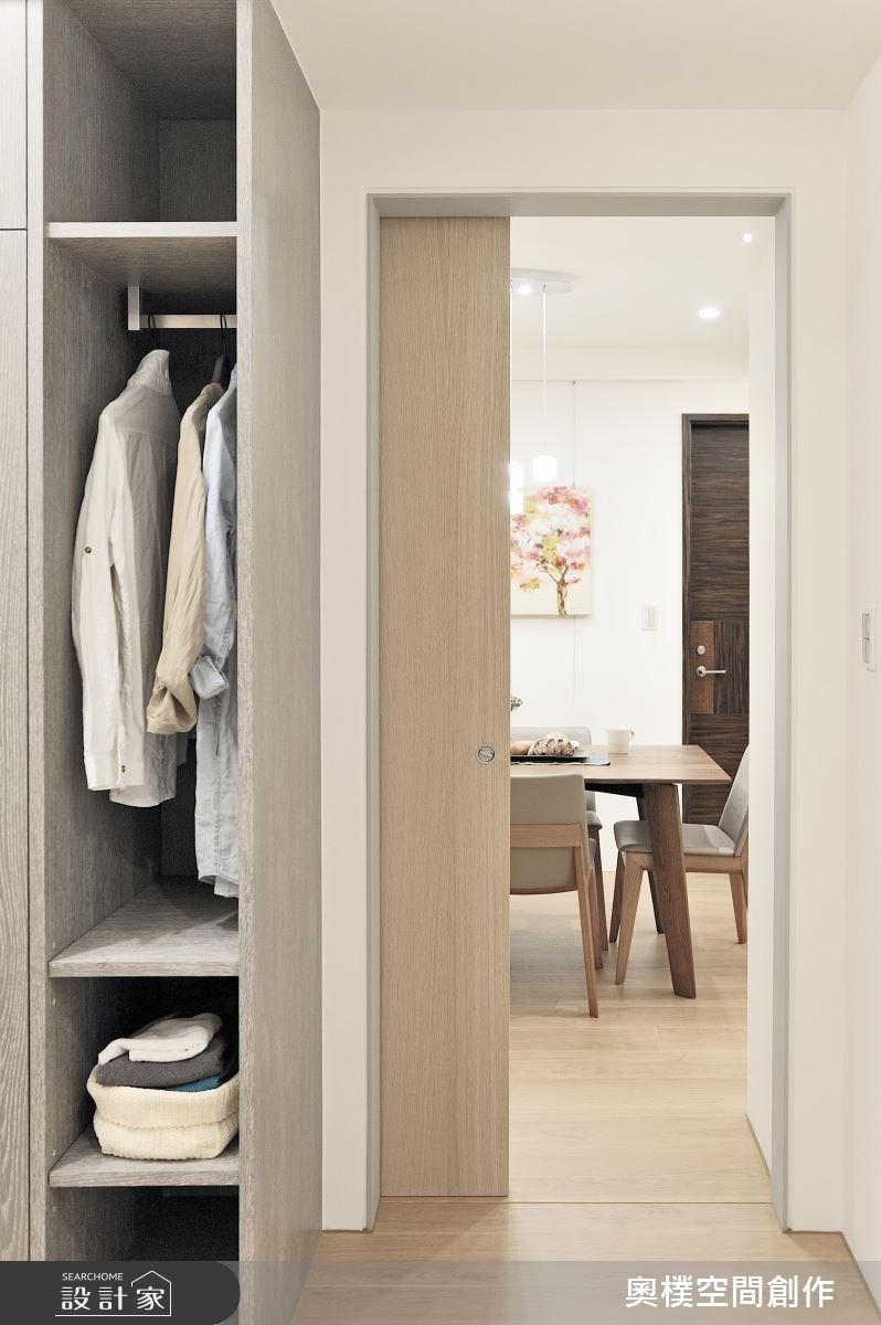 30坪新成屋(5年以下)_休閒風更衣間案例圖片_奧樸空間創作有限公司_奧樸_01之9