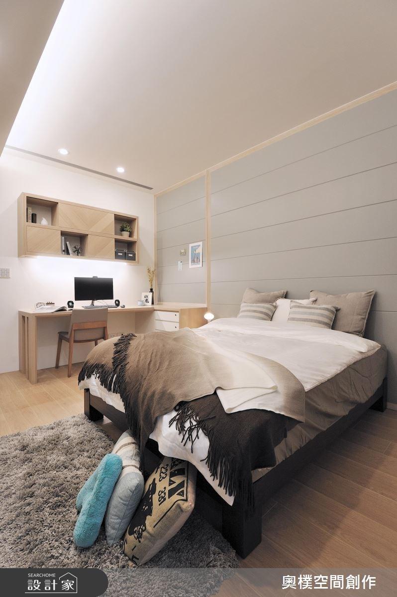 30坪新成屋(5年以下)_休閒風臥室案例圖片_奧樸空間創作有限公司_奧樸_01之12