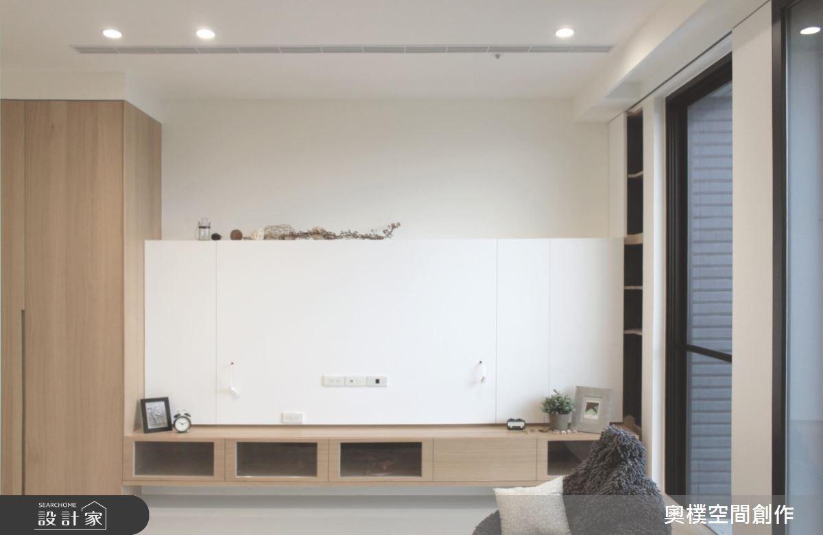 28坪新成屋(5年以下)_北歐風客廳案例圖片_奧樸空間創作有限公司_奧樸_02之3
