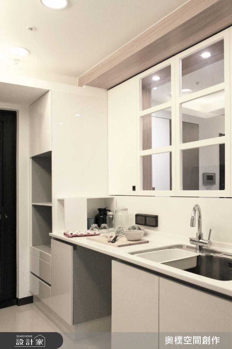 28坪新成屋(5年以下)_北歐風廚房案例圖片_奧樸空間創作有限公司_奧樸_02之9