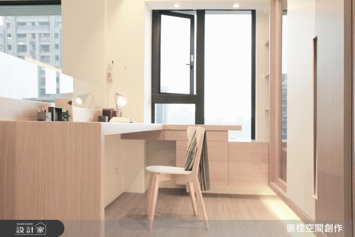 28坪新成屋(5年以下)_北歐風工作區案例圖片_奧樸空間創作有限公司_奧樸_02之12