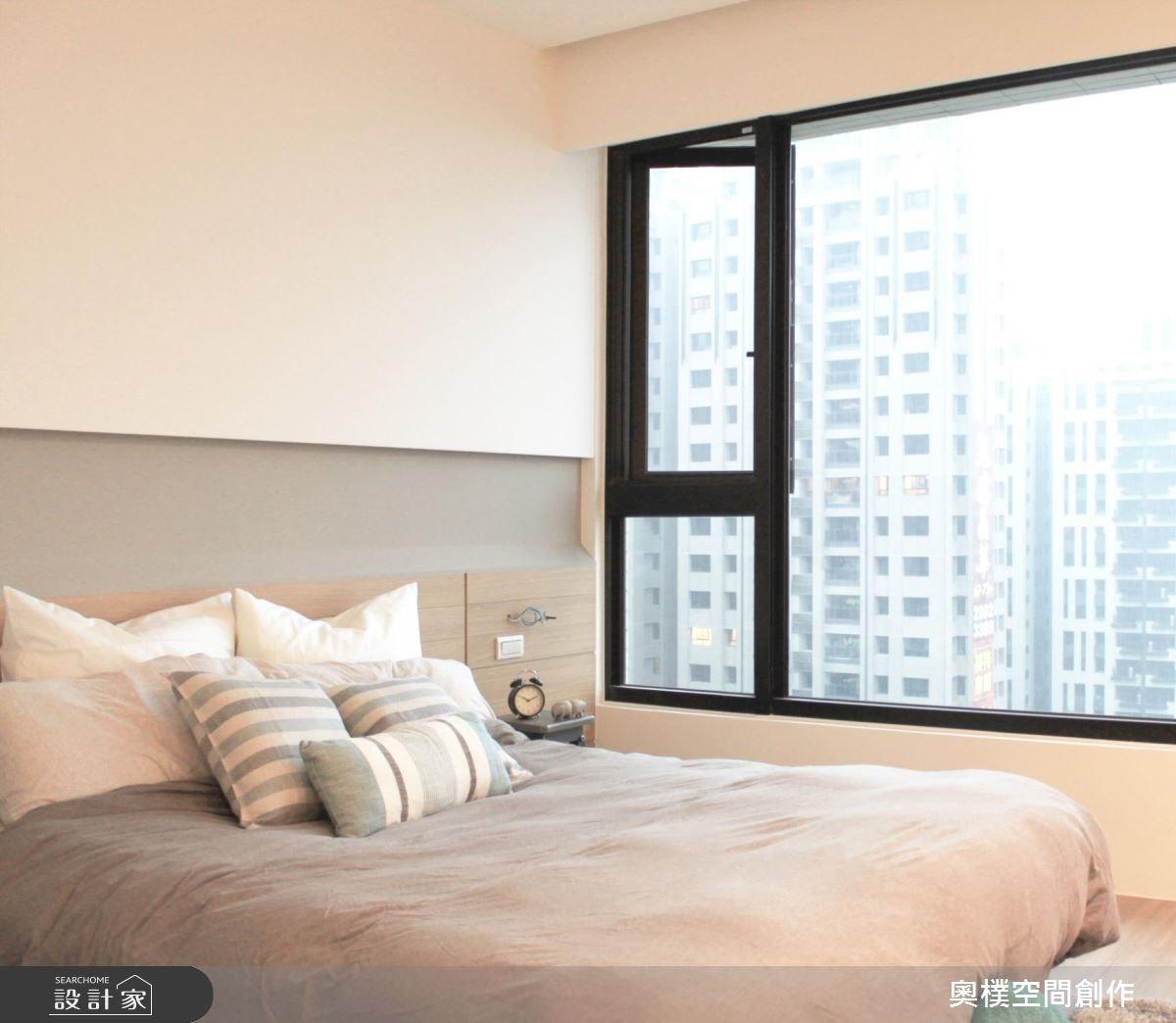 28坪新成屋(5年以下)_北歐風臥室案例圖片_奧樸空間創作有限公司_奧樸_02之14