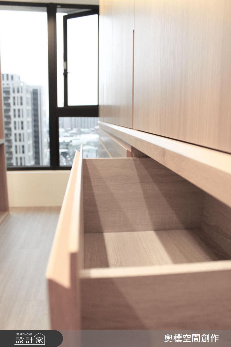 28坪新成屋(5年以下)_北歐風臥室案例圖片_奧樸空間創作有限公司_奧樸_02之16