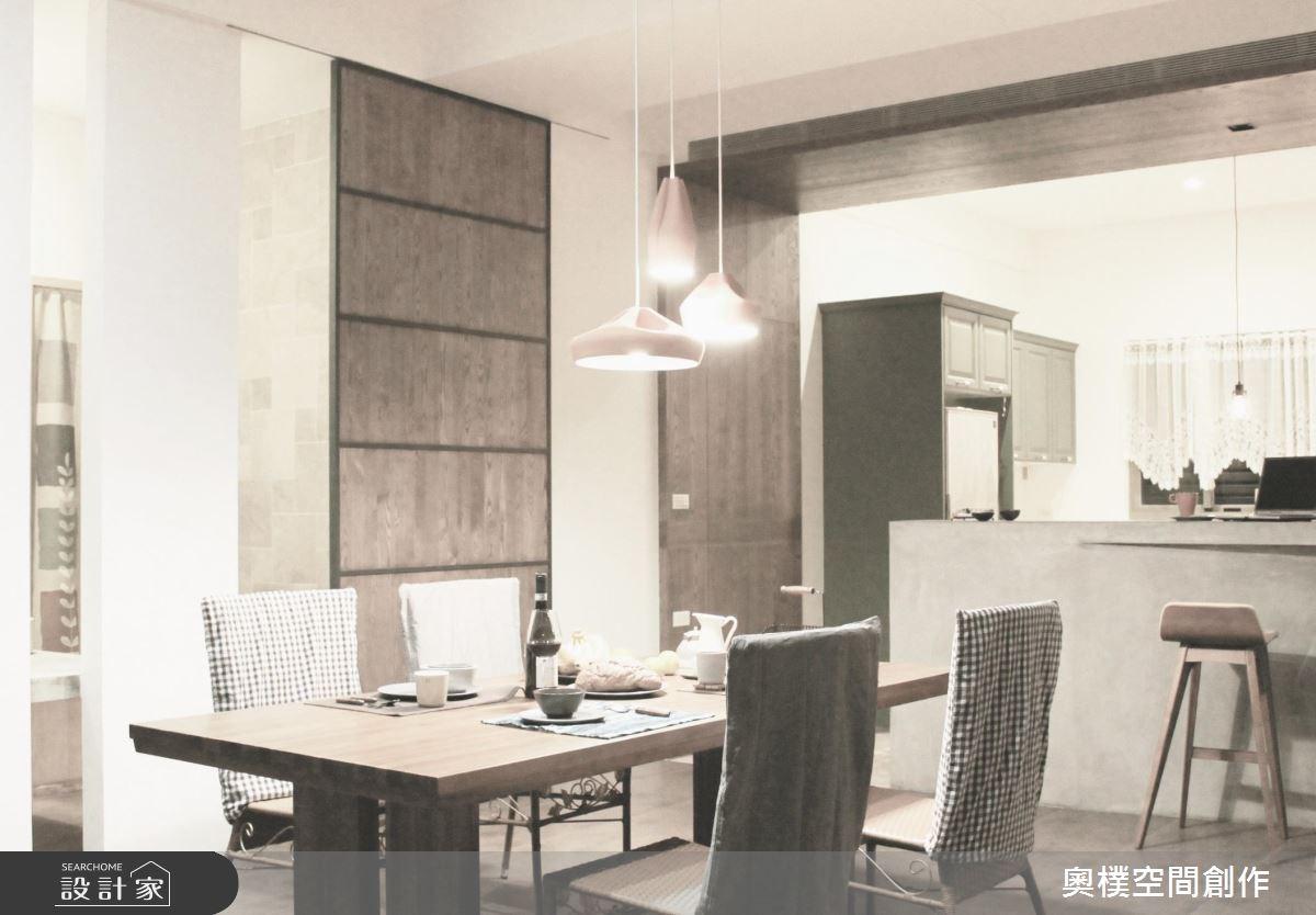 85坪新成屋(5年以下)_休閒風餐廳吧檯案例圖片_奧樸空間創作有限公司_奧樸_04之4