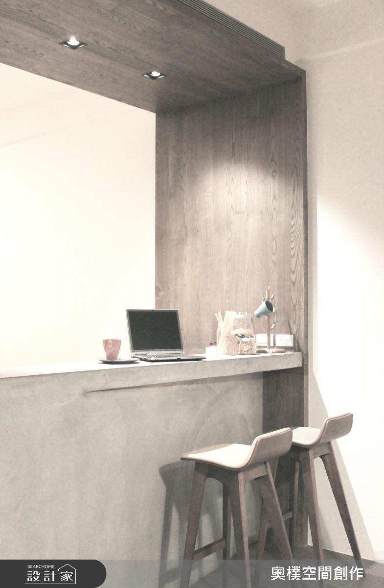 85坪新成屋(5年以下)_休閒風吧檯案例圖片_奧樸空間創作有限公司_奧樸_04之7
