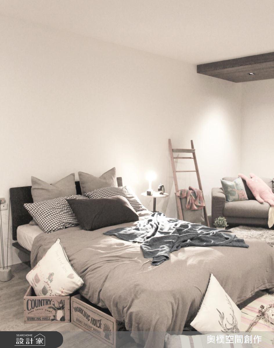 85坪新成屋(5年以下)_休閒風臥室案例圖片_奧樸空間創作有限公司_奧樸_04之15