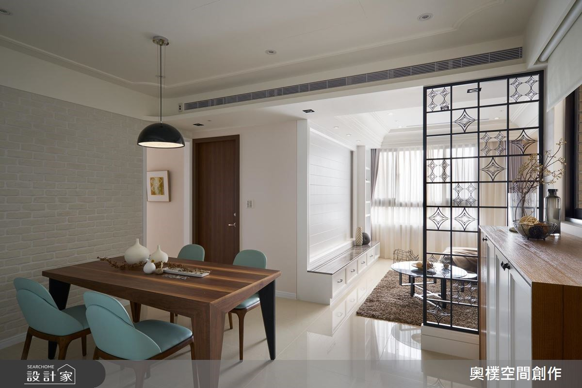 22坪新成屋(5年以下)_美式風餐廳案例圖片_奧樸空間創作有限公司_奧樸_05之1