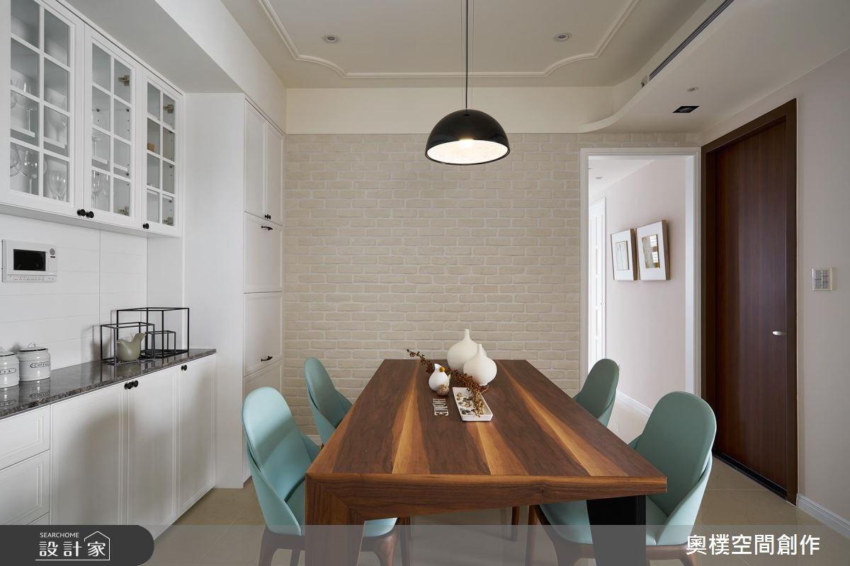22坪新成屋(5年以下)_美式風餐廳案例圖片_奧樸空間創作有限公司_奧樸_05之2