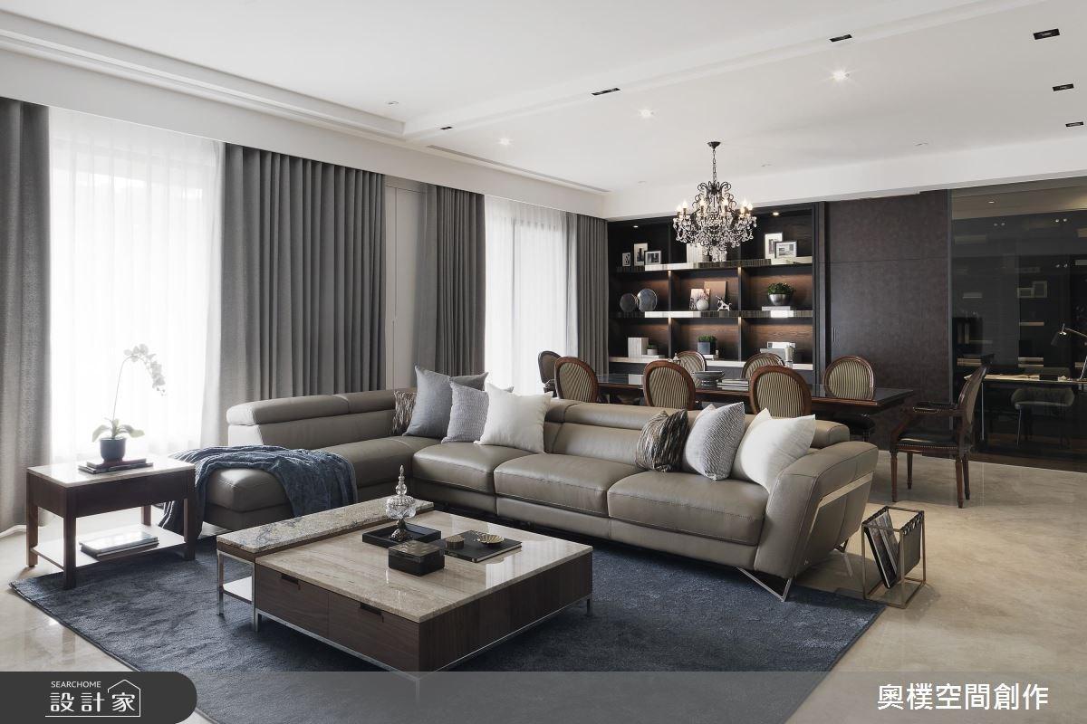 新成屋(5年以下)_新古典客廳案例圖片_奧樸空間創作有限公司_奧樸_06之3
