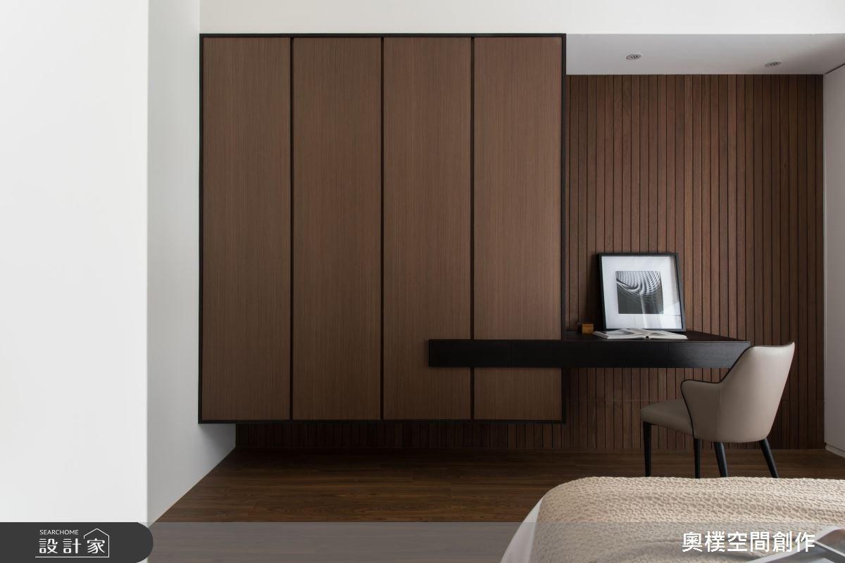 130坪預售屋_現代風臥室案例圖片_奧樸空間創作有限公司_奧樸_09之5