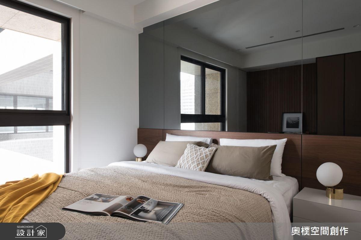 130坪預售屋_現代風臥室案例圖片_奧樸空間創作有限公司_奧樸_09之6