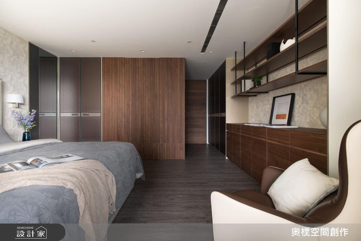 130坪預售屋_現代風臥室案例圖片_奧樸空間創作有限公司_奧樸_09之7