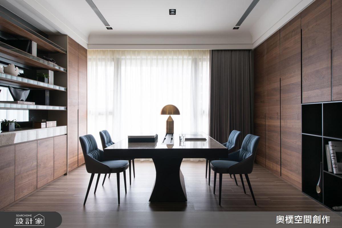 130坪預售屋_現代風工作區案例圖片_奧樸空間創作有限公司_奧樸_09之13
