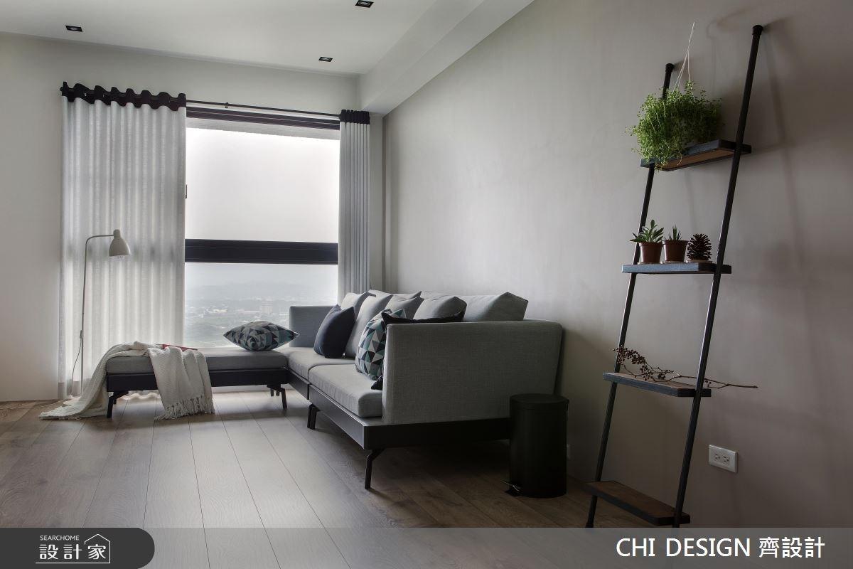 35坪新成屋(5年以下)_混搭風客廳案例圖片_CHI DESIGN 齊設計_CHI DESIGN_01之4