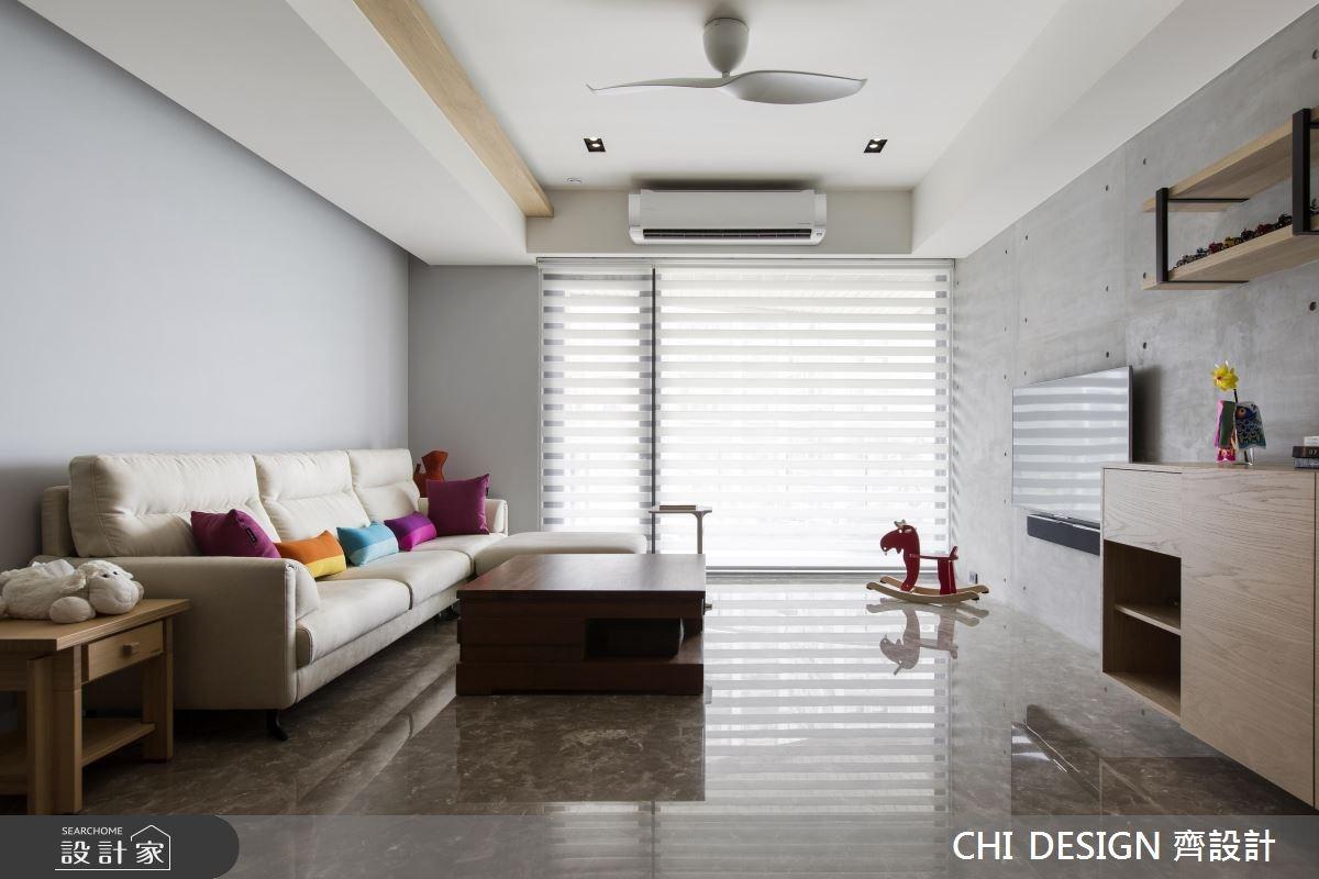 40坪新成屋(5年以下)_混搭風客廳案例圖片_CHI DESIGN 齊設計_CHI DESIGN_04之3
