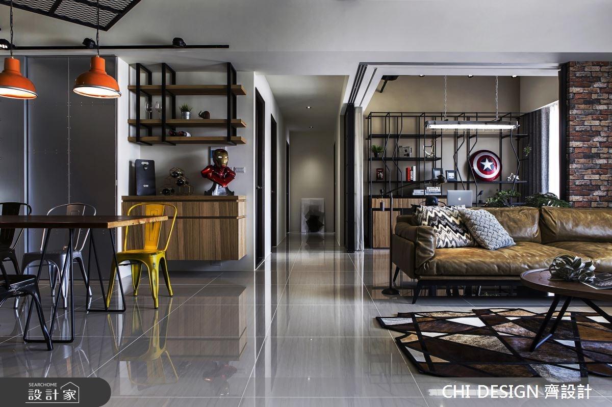 45坪新成屋(5年以下)_混搭風案例圖片_CHI DESIGN 齊設計_CHI DESIGN_08之10