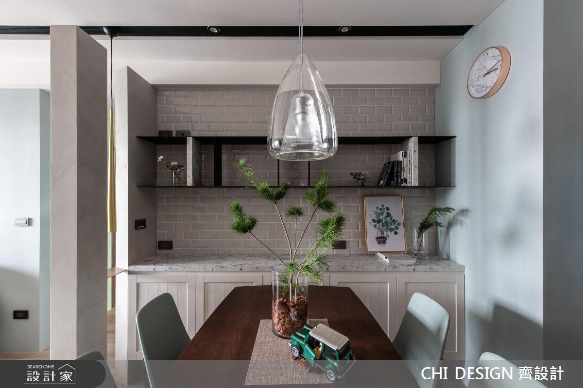15坪新成屋(5年以下)_北歐風餐廳案例圖片_CHI DESIGN 齊設計_CHI DESIGN_13之4