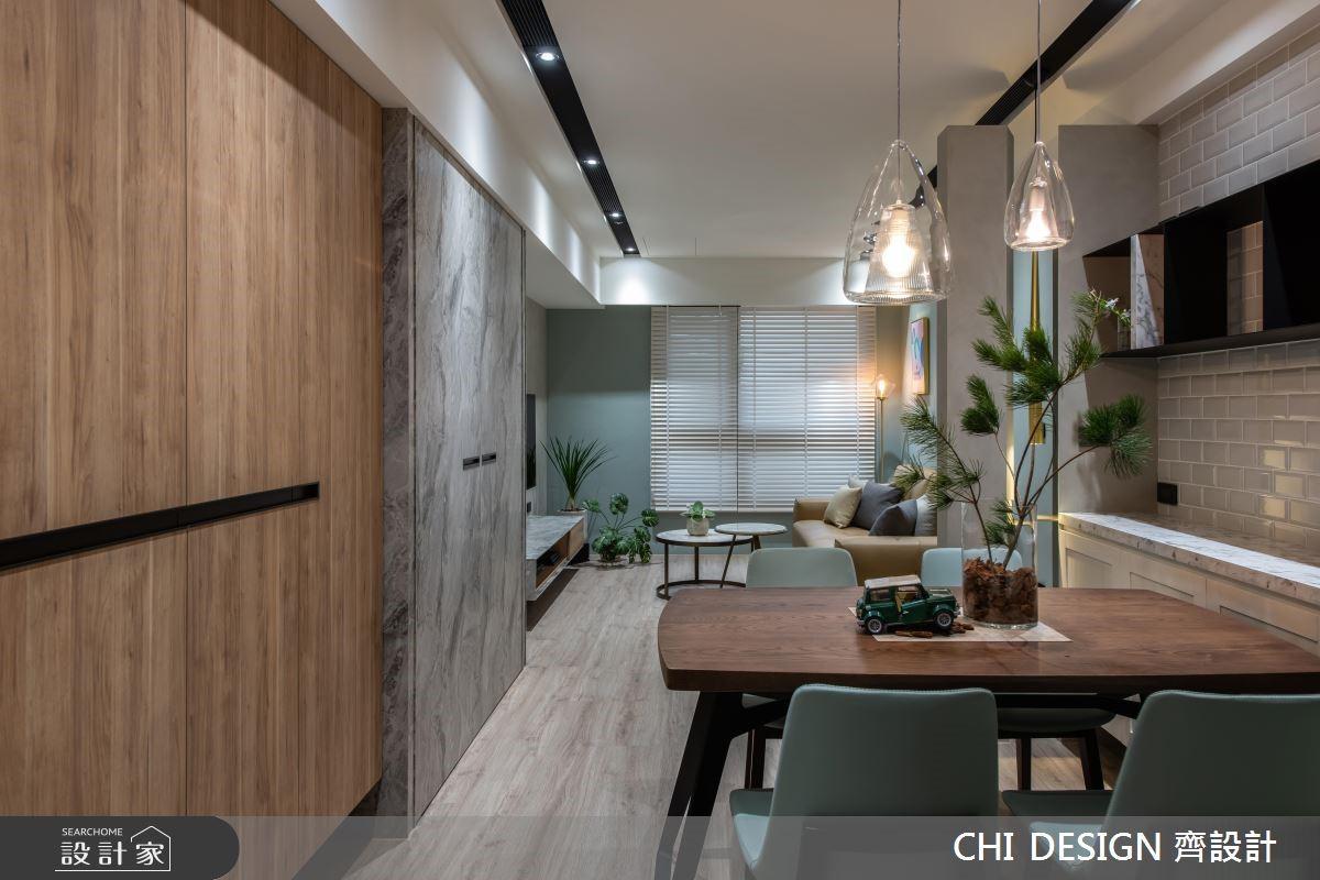 15坪新成屋(5年以下)_北歐風餐廳案例圖片_CHI DESIGN 齊設計_CHI DESIGN_13之2