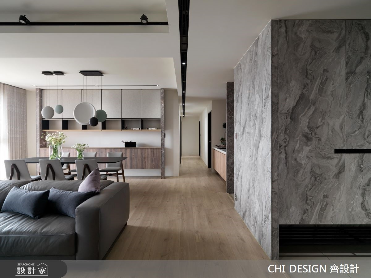 60坪新成屋(5年以下)_現代風餐廳案例圖片_CHI DESIGN 齊設計_CHI DESIGN_14之1