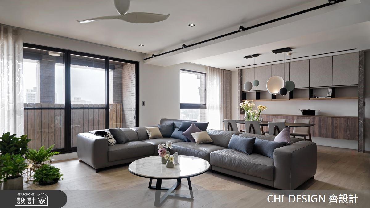 60坪新成屋(5年以下)_現代風案例圖片_CHI DESIGN 齊設計_CHI DESIGN_14之3