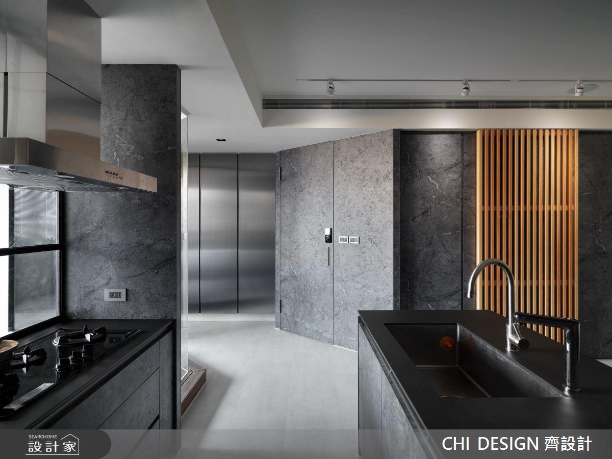 30坪老屋(31~40年)_現代風廚房中島案例圖片_CHI DESIGN 齊設計_CHI DESIGN_18之3