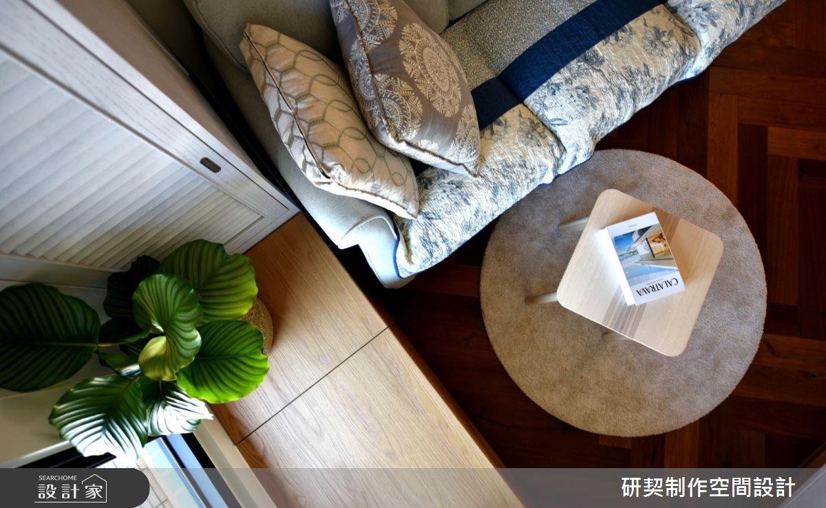 20坪新成屋(5年以下)_鄉村風客廳案例圖片_研契制作_研契_09之3