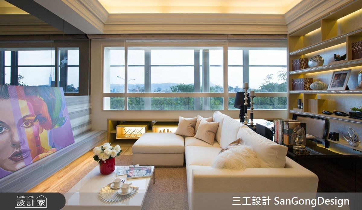 20坪新成屋(5年以下)_混搭風客廳案例圖片_三工設計 SanGongDesign_三工_03之3